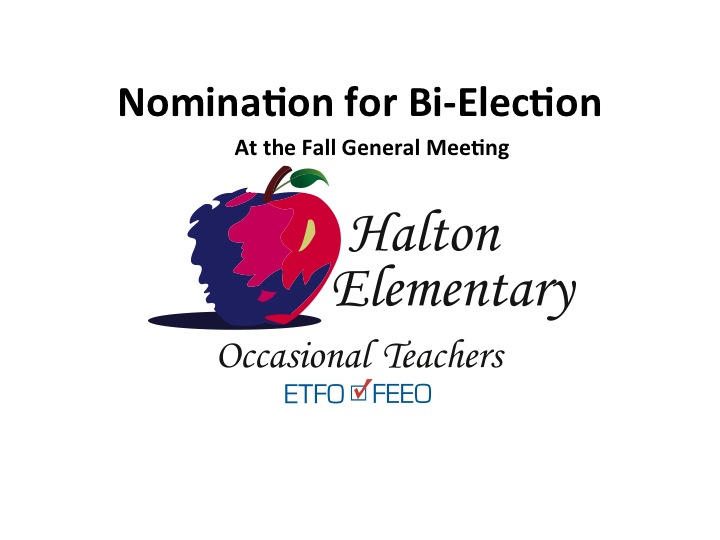 Call for Nomination: Bi-Election