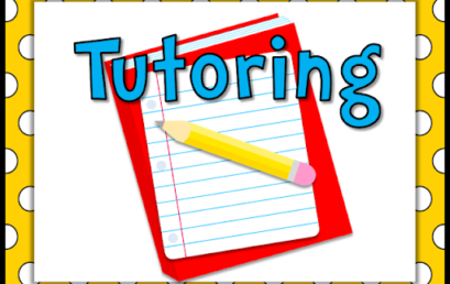 Important information about Tutoring Students